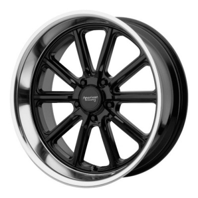 Roue American Racing VN507 RODDER, noir lustre machine (18X9.5, 5x114.3, 72.60, déport 0)