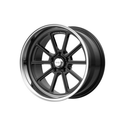 roue American Racing VN510 DRAFT, noir lustre rebord machine (18X10, 5x114.3, 72.6, déport 12)