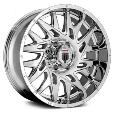 Roue American Truxx DNA, chrome (20X9, 5x127, 78.1, déport 0)