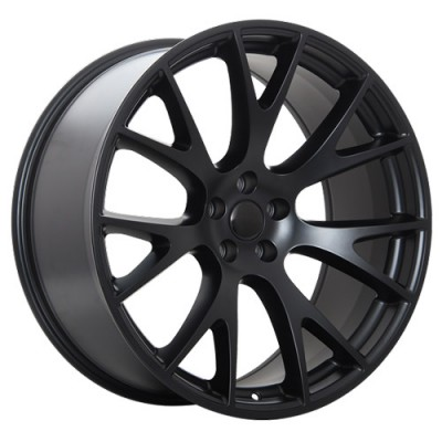 Roue Art Replica Wheels Replica 120, noir satine (20X9.5, 5x115, 71.5, déport 19)