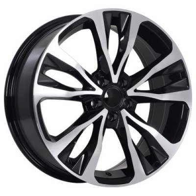 roue Art Replica Wheels Replica 126, noir lustre machine (17X7.0, 5x100, 54.1, déport 39)