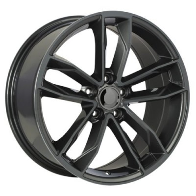 Roue Art Replica Wheels Replica 129, gris gunmetal (18X8, 5x112, 66.5, déport 35)