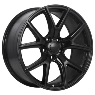 roue Art Replica Wheels Replica 140, noir satine (22X9.0, 5x127, 71.5, déport 34)