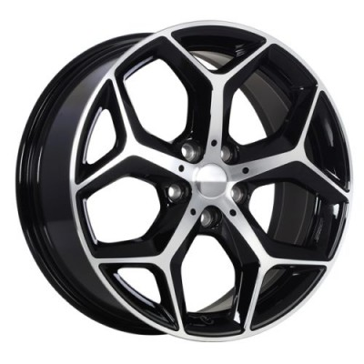 roue Art Replica Wheels Replica 149, noir lustre machine (18X7.5, 5x112, 66.5, déport 51)