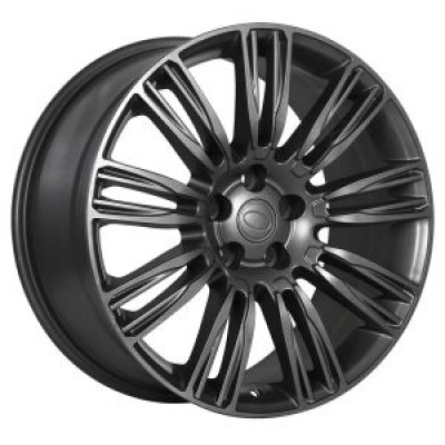 roue Art Replica Wheels Replica 152, gris gunmetal (20X9.5, 5x120, 72.6, déport 45)