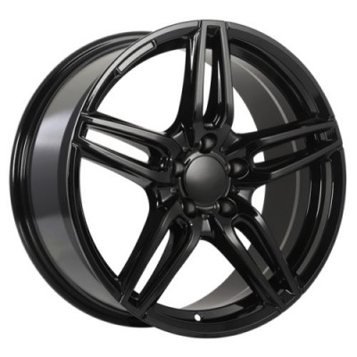 roue Art Replica Wheels Replica 158, noir lustre (19X8.0, 5x112, 66.6, déport 33)