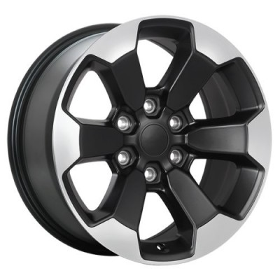 roue Art Replica Wheels Replica 167, noir machine (18X8.0, 6x139.7, 77.8, déport 20)