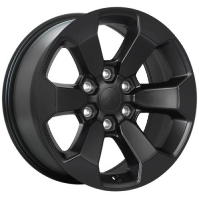 roue Art Replica Wheels Replica 167, noir satine (18X8.0, 6x139.7, 77.8, déport 20)