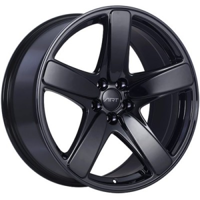 roue Art Replica Wheels Replica 182, noir lustre (20X9.0, 5x112, 66.5, déport 26)
