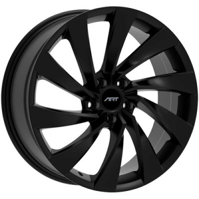 Roue Art Replica Wheels Replica 187, noir lustre (19X8.0, 5x112, 57.1, déport 40)