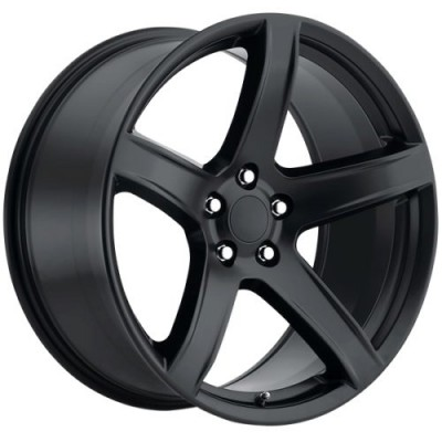 Roue Art Replica Wheels Replica 195, noir satine (20X11.0, 5x115, 71.5, déport 22)