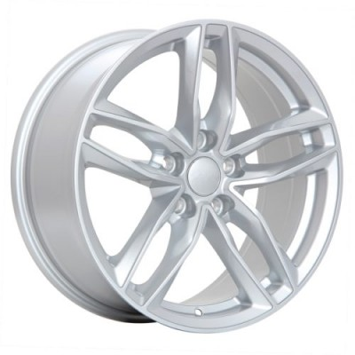 roue Art Replica Wheels Replica 36, argent (18X8.0, 5x112, 66.5, déport 42)
