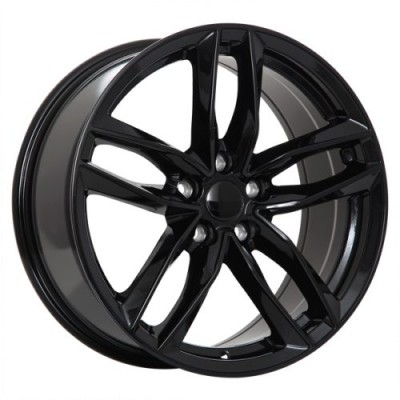 Roue Art Replica Wheels Replica 36, noir lustre (18X8.0, 5x112, 66.5, déport 35)