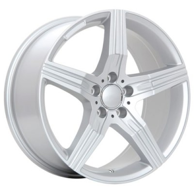 roue Art Replica Wheels Replica 59, argent (18X8.5, 5x112, 66.6, déport 45)