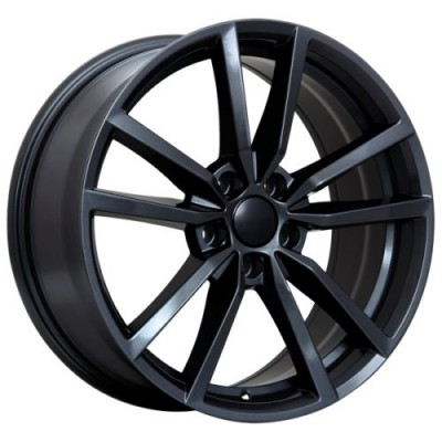 roue Art Replica Wheels Replica 75, noir lustre (19X8.0, 5x112, 57.1, déport 45)