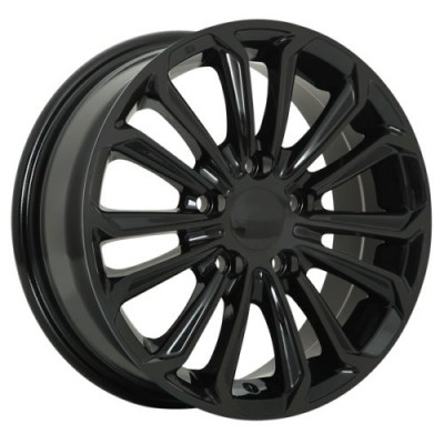 roue Art Replica Wheels Replica 95, noir lustre (15X6.0, 5x100, 54.1, déport 40)