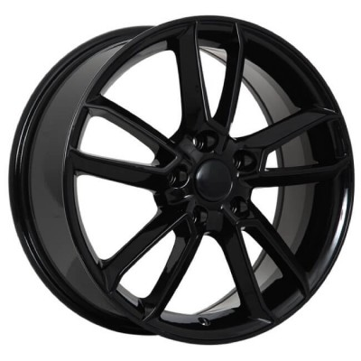 Roue Art Replica Wheels Replica 99, noir lustre (19X7, 5x114.3, 67.1, déport 50)