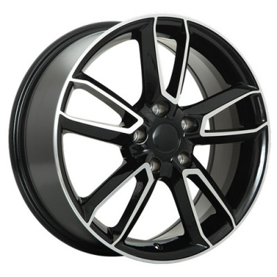 Roue Art Replica Wheels Replica 99, noir machine (17X7, 5x114.3, 67.1, déport 50)