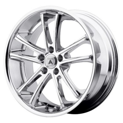Roue Asanti Black ABL-1, chrome (22X9, 5x115, 74.10, déport 15)