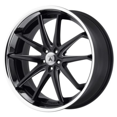 Roue Asanti Black ABL-5, noir mat machine (20X10, 5x114.3, 74.10, déport 30)