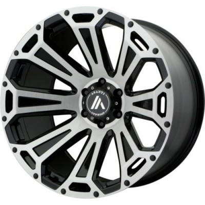 Roue Asanti Off Road OR813, noir machine (20.00X10.00, 8x165.10, 122.5, déport -12)