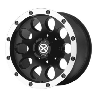 roue ATX Series AX186 SLOT, noir machine (16X8, 5x150, 112, déport 0)