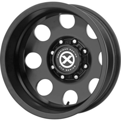 Roue ATX Series BAJA DUALLY Rear, noir satine (17X6, 8x165.1, 121.5, déport -134)