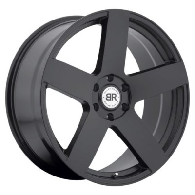 Roue Black Rhino EVEREST, noir mat (20X9, 6x139.7, 112, déport 15)