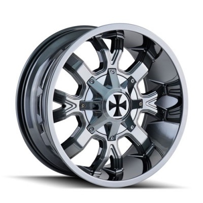 Roue Cali Off-Road DIRTY, chrome (20X10, 6x135/139.7, 108, déport -19)