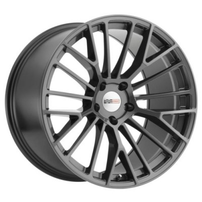 Roue Cray Wheels ASTORIA, gris gunmetal (18X9.5, 5x120.65, 70.3, déport 56)