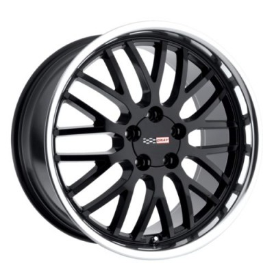 Roue Cray Wheels MANTA, noir lustre rebord machine (17X9, 5x120.65, 70.3, déport 50)