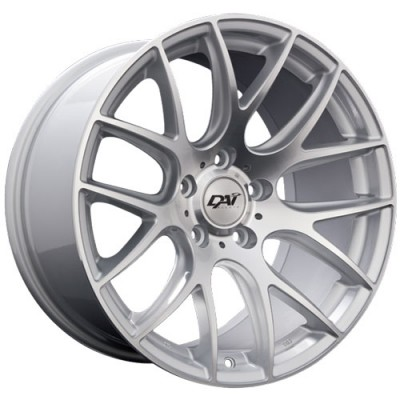 Roue Dai Alloys Autobahn, argent machine (18X8, 5x114.3, 73.1, déport 45)
