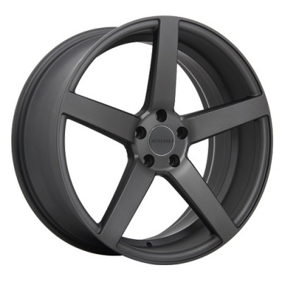 Ruffino Wheels Boss Matt Anthracite/Anthracite mat, 16X7.0, 5x112 ,(déport/offset42 )66.6