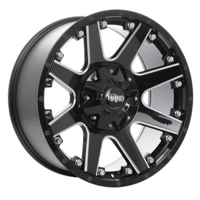 roue Ruffino Wheels Crew, noir lustre machine (18X9, 5x135/139.7, 87.1, déport 12)