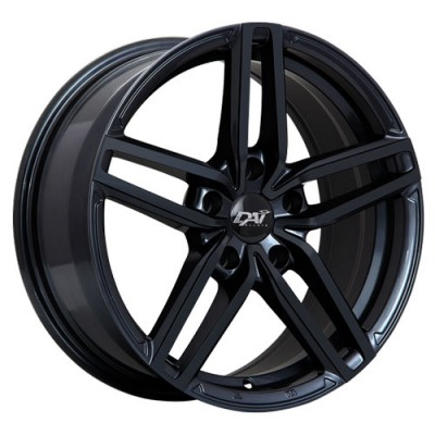 Dai Alloys Evo Gloss Black/Noir lustré, 16X7.0, 4x100 ,(déport/offset40 )73.1