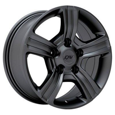 roue Dai Alloys Force, graphite (17X8, 5x139.7, 77.8, déport 25)