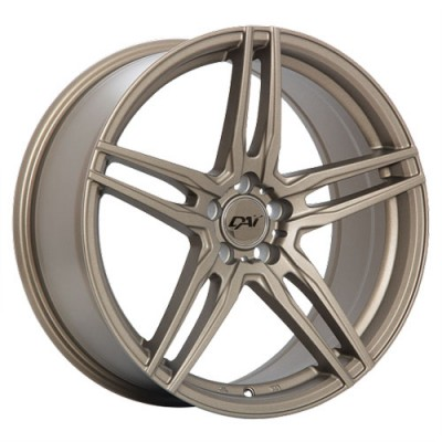 roue Dai Alloys Hero, bronze (17X7.5, 5x114.3, 73.1, déport 40)