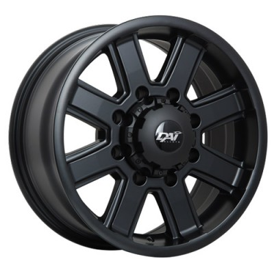 Dai Alloys Maxx Satin Black/Noir satin, 18X9.0, 8x180 ,(déport/offset20 )124.3