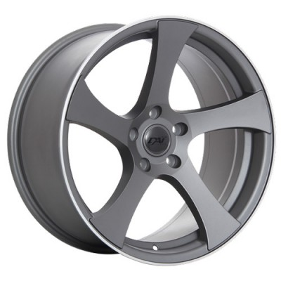 roue Dai Alloys Modular, gris gunmetal machine (19X8.5, 5x114.3, 73.1, déport 40)