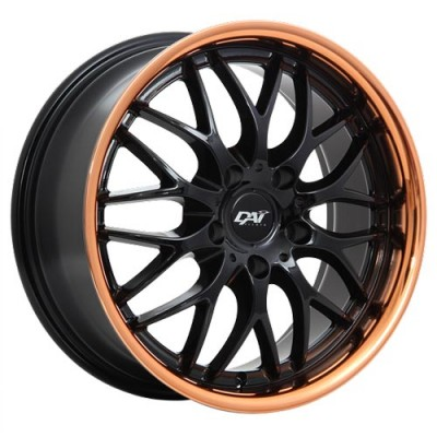 roue Dai Alloys Passion, noir lustre (17X7.5, 5x114.3, 73.1, déport 45)