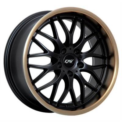 roue Dai Alloys Passion, noir machine (17X7.5, 5x114.3, 73.1, déport 45)