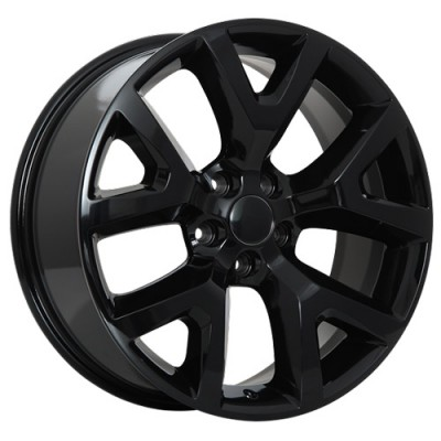 Art Replica Wheels Replica 105 Gloss Black/Noir lustré, 17X7.5, 5x110 ,(déport/offset31 )65.1
