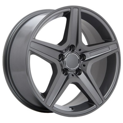 Roue Art Replica Wheels Replica 21, gris gunmetal (18X8.5, 5x112, 66.6, déport 35)
