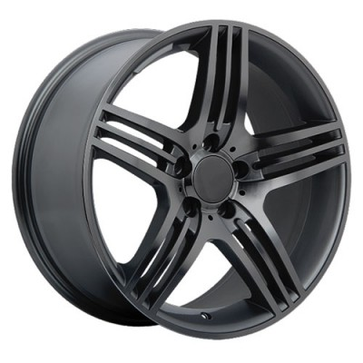 Roue Art Replica Wheels Replica 30, gris gunmetal (18X8.5, 5x112, 66.6, déport 45)