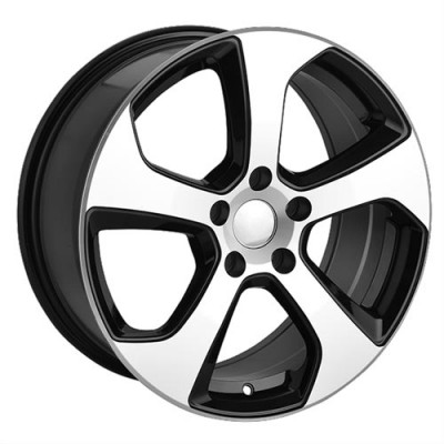 Roue Art Replica Wheels Replica 39, noir lustre machine (17X7.5, 5x112, 57.1, déport 45)