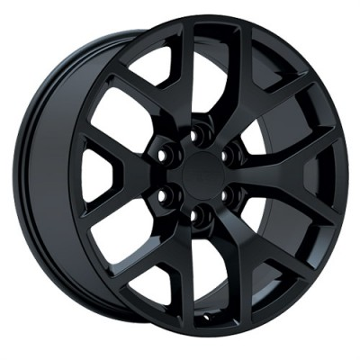 roue Art Replica Wheels Replica 54, noir satine (20X9, 6x139.7, 78.1, déport 27)