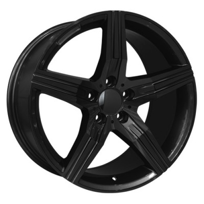 roue Art Replica Wheels Replica 59, noir lustre (17X8, 5x112, 66.6, déport 35)