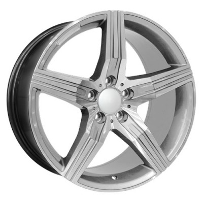roue Art Replica Wheels Replica 59, argent (17X8, 5x112, 66.6, déport 45)