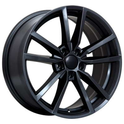 Art Replica Wheels Replica 75 Gloss Black/Noir lustré, 16X7.0, 5x112 ,(déport/offset45 )57.1 Volkswagen