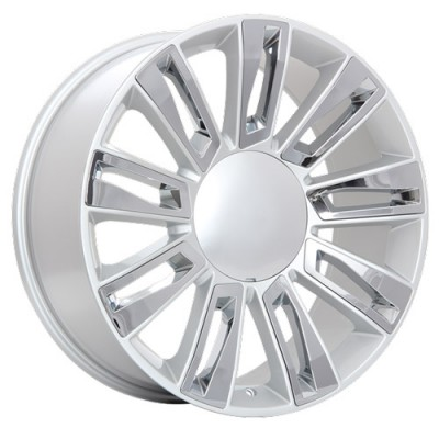 roue Art Replica Wheels R80, argent machine (20X9, 6x139.7, 78.1, déport 31)